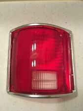 1973 1987 Chevy GMC Pickup truck left taillight tail lamp  aftermarket Chrome