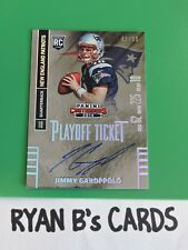 2014 CONTENDERS JIMMY GAROPPOLO RC PLAYOFF TICKET AUTO 49/99 SP WOW!!