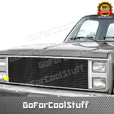 For 1982-1990 GMC Jimmy S-15 S15 Pick UP Upper Billet Grille Grill Insert Steel