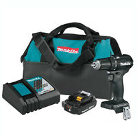 Makita 18V LXT Brushless Cordless Impact Driver & Drill Combo Kit w/ Batteries