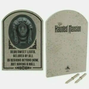 Disney Madame Leota Tombstone Headstone Yard Decoration Haunted Mansion New