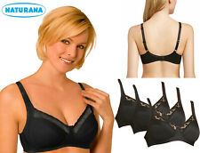 32DD Pack Of 3 Naturana Non Wired Soft Cup Bra 86666
