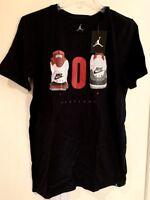 Nike Air Jordan Portland 503 Men's T-Shirt Black AV2043