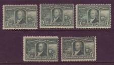 #323 ONE CENT LOUISIANA PURCHASE. WHOLESALE LOT OF (5) UNUSED SINGLES!