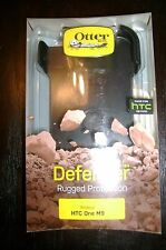 Otter Box Defender Series Rugged Protection For HTC One -Black