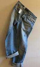 Men's LEE 101B SELVEDGE CINCH BACK Denim Regular Straight Jean. Size 34 X 34 NOS