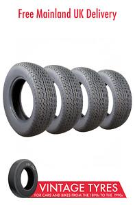 Set of 4 x Dunlop SP Sport Aquajet ER70VR15 Tyres 205/70VR15 Jaguar XJ E-Type S3