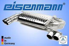 EISENMANN BMW F30 328i 4x76mm Edelstahl Endschalldämpfer *DAS ORIGINAL !*