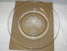 ORREFORS    --  SONS OF LIBERTY  --  SCULPTURED CRYSTAL PLATE