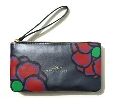 LOLA MARC JACOBS Purple Makeup Cosmetics Bag with handle, Brand NEW!