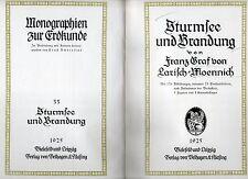 sturmfee und brandung von franz craf von larich-moennich - 1925