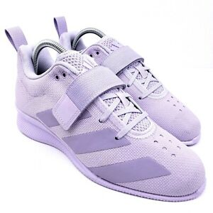 Adidas Adipower Womens Size 9.5 Purple Weightlifting Lifting Shoes EG1701