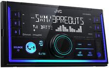 JVC KWX830BTS Double DIN Car Audio USB Bluetooth Digital Media Receiver