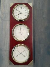 New listing Seiko Wall Clock Barometer Thermometer Hygrometer Weather Station