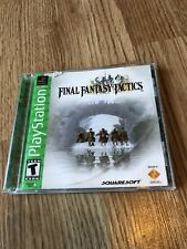 Final Fantasy Tactics (Sony PlayStation 1) Ps1 Mint Disk Tested Works ES
