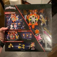 POWER RANGERS Super Ninja Steel Blaze Megazord w/ Box Bandai Saban