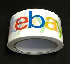 More details for new ebay branded packaging parcel packing tape 75 yards - 50mm wide