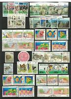 MNZ68) New Zealand 1991 Stamp Sets CTO/Used