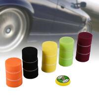 16pcs 2in 50mm Car Polisher Pad Buffer Waxing Buffing Polishing Sponge Pads Kit