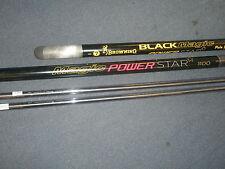 Browning Magic Power Star 11m Pole + 2 spare top kits Fishing tackle