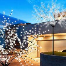 Blüten Baum 600x LED Außen Leuchte Garten Licht 250 cm Ambiente Deko Stahl IP44