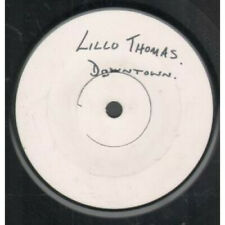 "LILLO THOMAS Downtown 7"" VINYL UK Capitol White Label Test Pressing With"