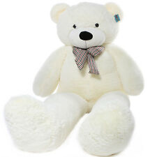 Joyfay 91'' White Giant Teddy Bear Stuffed Plush Toy Birthday Gift 230cm