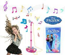 DISNEY FROZEN OLAF ANNA ELSA MICROPHONE SING VOICE TUBE TOY MUSIC SOUND LIGHT