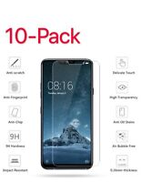 10 Pack Premium Tempered Glass Screen Protector Guard For LG G7 ThinQ