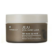 [The FACE Shop] Jeju Volcanic Lava Pore Mud Pack 100ml