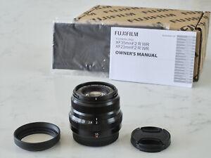 Fujifilm XF 35mm F2 R WR Fujinon Prime Lens Fuji X Mount - Near Mint