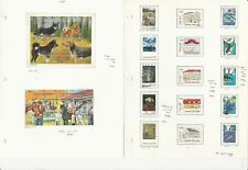 Finland Collection on 13 Pages, All Different 1989-1996