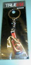 True Blood Official  Blood Bottle Metal Keychain MIP
