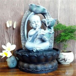 Fengshui Indoor Fountain Home Living Rooms Ornaments Relaxing Waterfall Decors