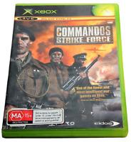 Commandos Strike Force XBOX Original PAL *Complete*
