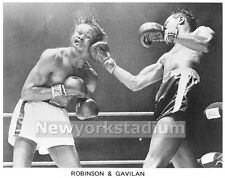 Boxing- Sugar Ray Robinson Beats Kid Gavilan