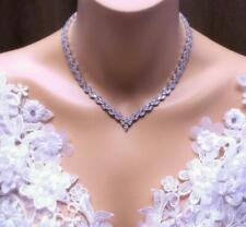 Fabulous Marquise Shape 20.00CT Cubic Zirconia Women's Wedding & Party Necklace