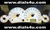 FORD FOCUS Mk1 (1998-2004) - 140mph (Petrol or Diesel) - WHITE DIAL KIT