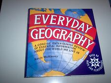 Everyday Geography by Kevin McKinney (1993, Hardcover)