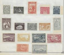 16 Armenia Stamps from Quality Old Album 1921