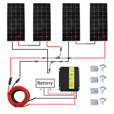 600W Watt Mono Solar Panel System With 40A MPPT charge Controller for Home Power