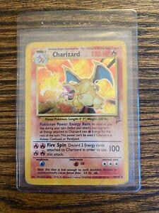 Charizard base set 2 Pokemon Tcg