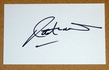 ROB ANDREW ENGLAND RUGBY PERSONALLY SIGNED AUTOGRAPH INDEX CARD