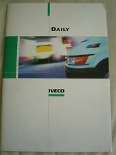IVECO DAILY BROCHURE DEC 2001