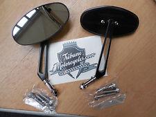 Arlen Ness Spiegel Stealth I schwarz Harley  Davidson Customspiegel