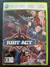 Riot Act Japanese Xbox 360