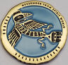 NATIVE AMERICAN TOTEM GEOCOIN - RAVEN - VARIOUS METALS - UNACT- NEW