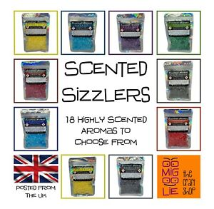 Scentual Aromas Highly Scented Sizzlers Wax Melt Burner Alternative *FREE POST