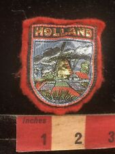 As-Is Rough HOLLAND Dutch Windmill The Netherlands Patch 96AH