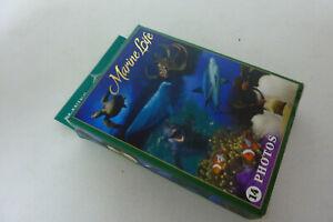 Marine Loife - Playing Cards  - Mit tollen Unterwasserwelt-Fotos - Vollständig